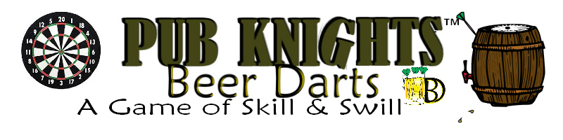 Pub Knights Beer Darts Game